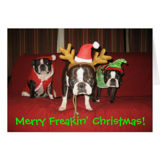 Merry Freakin' Christmas! Card