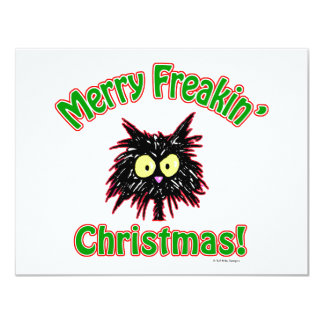 Merry Freakin' Christmas Card