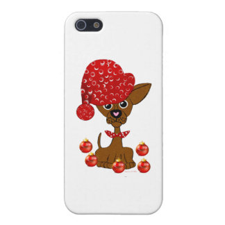 Merry Freakin' Christmas Dog Decorating Covers For iPhone 5