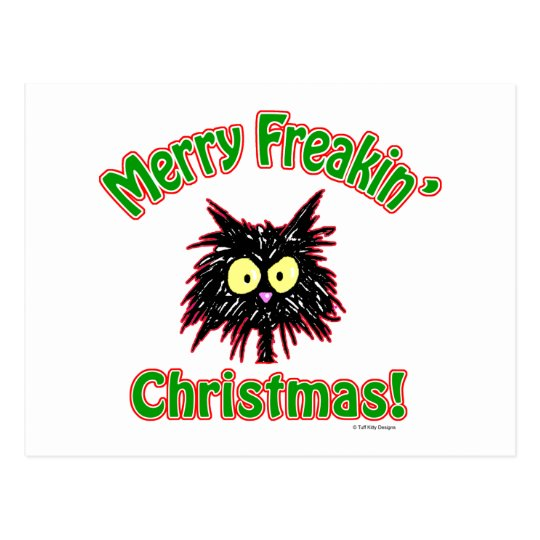 Merry Freakin' Christmas Postcard