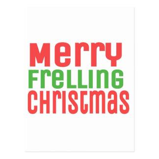 Merry Frelling Christmas! Postcard