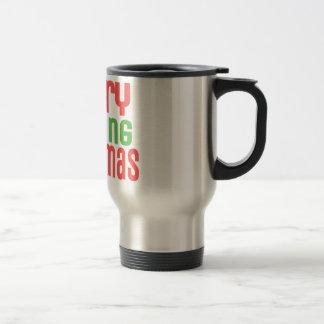Merry Frelling Christmas! Travel Mug