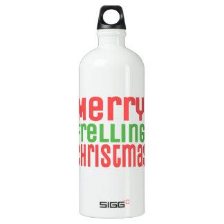 Merry Frelling Christmas! Water Bottle
