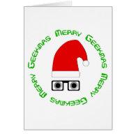 Merry Geekmas Card Template