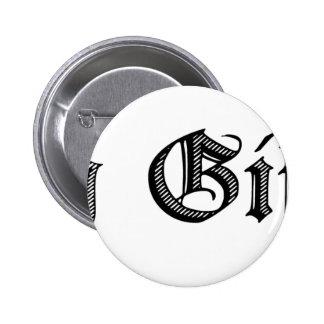 Merry Giftmas! Pinback Button