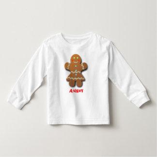 Merry Gingerbread Woman Toddler T-shirt
