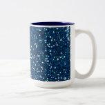 -merry-glitter-blue BRILLIANT ROYAL BLUE SPARKLES Coffee Mug