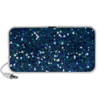 -merry-glitter-blue BRILLIANT ROYAL BLUE SPARKLES iPhone Speakers