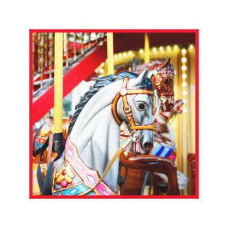 Merry-go-round canvas series 41