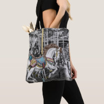 Merry Go Round Carousel Photography Tote Bag