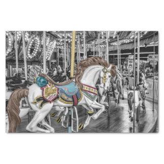 Merry Go Round Carousel Tissue Paper