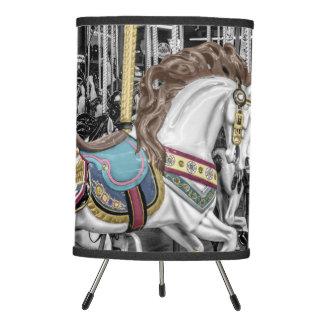 Merry Go Round Carousel Tripod Lamp