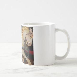 merry go round classic white coffee mug