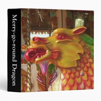 Merry-go-round Dragon (1.5in) Binder