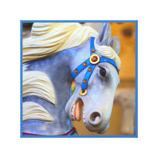 merry-go-round horse canvas 18 series