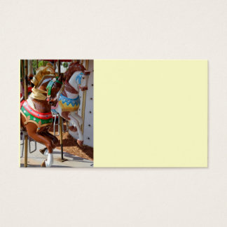Merry-Go-Round Horses Business Card