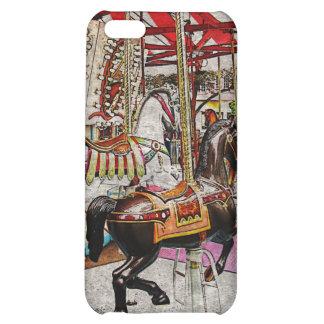 merry-go-round i-phone design iPhone 5C covers