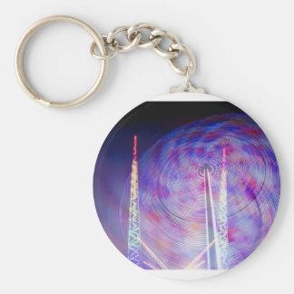 Merry go round keychain