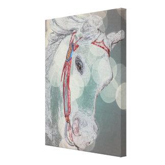 Merry Go Round Pony Fantasy Art Canvas Print