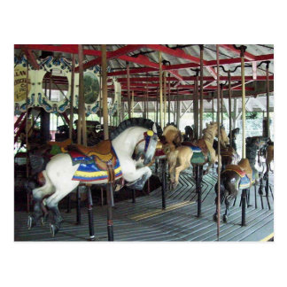 merry go round postcard