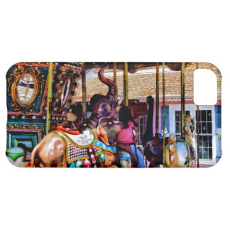 Merry Go Round With Elephants Case For iPhone 5C