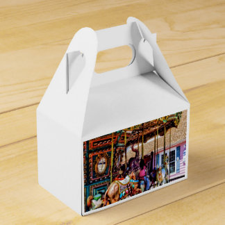 Merry Go Round With Elephants Favor Boxes