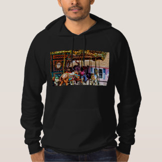 Merry Go Round With Elephants Hoodie