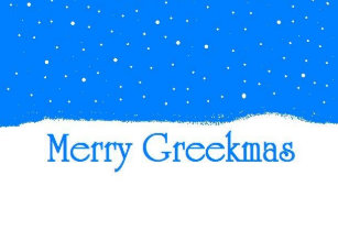 merry greekmas greek christmas card - Merry Christmas In Greek Language