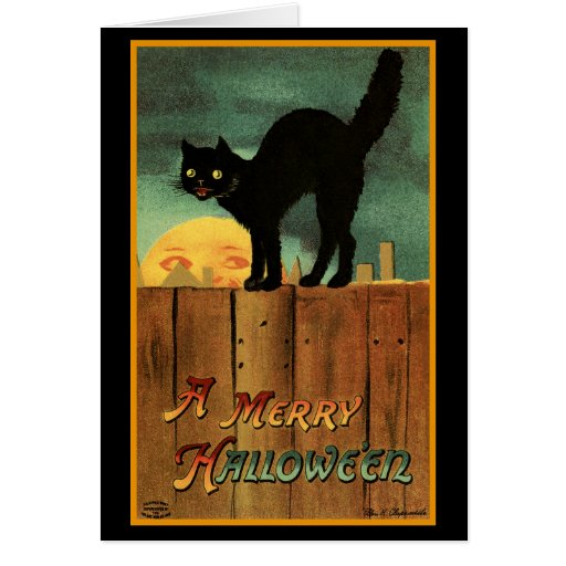 Merry Halloween Greeting Card
