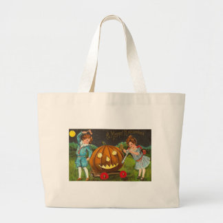 Merry Halloween Parade Tote Bags