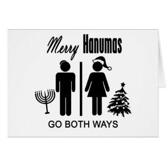 Merry Hanumas Greeting Card