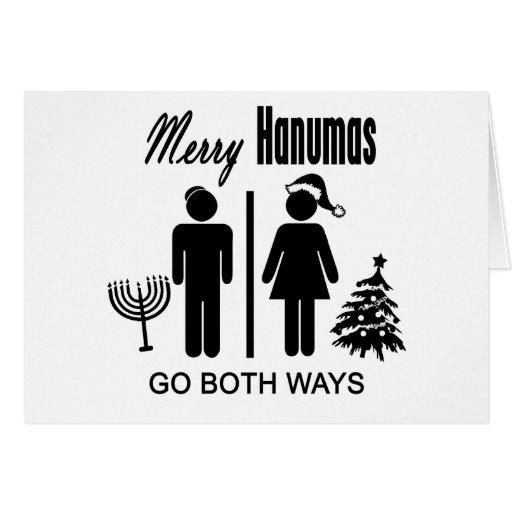 Merry Hanumas Card