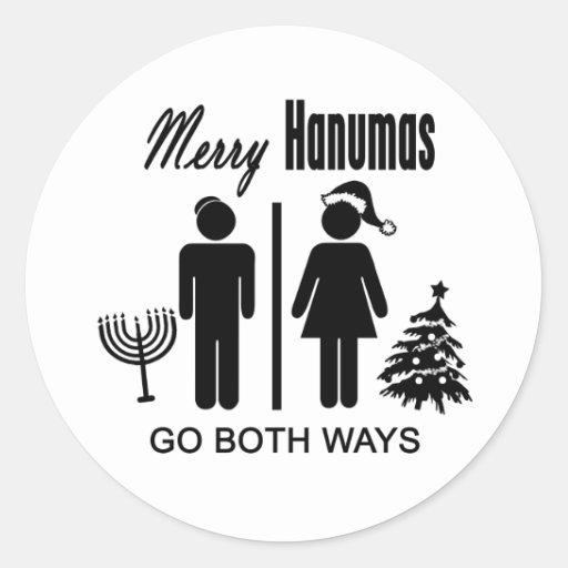 Merry Hanumas Sticker