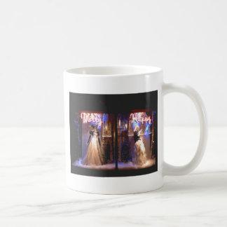 Merry Happy Fashion Gowns Holiday WIndows NYC Coffee Mug