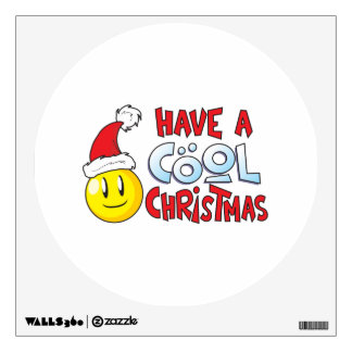Merry Have a Cool Christmas Pillow Pin Button Mug Wall Decal