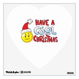 Merry Have a Cool Christmas Pillow Pin Button Mug Wall Sticker