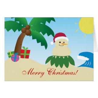 Merry Hawaii Christmas! (Mele Kalikimaka!) Card