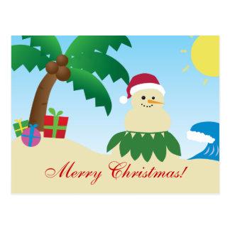 Merry Hawaii Christmas! (Mele Kalikimaka!) Postcard
