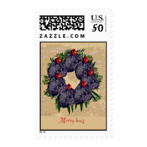 Merry Hens holiday stamps