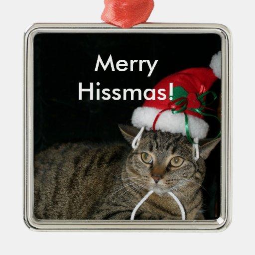 Merry Hissmas! Christmas Tree Ornaments