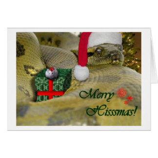 Merry Hisssmas! Card