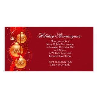 Merry Holiday Christmas Shenanigans Card