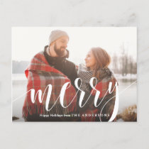Merry Holiday Postcard