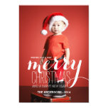 Merry Holiday Wishes | Holiday Photo Card
