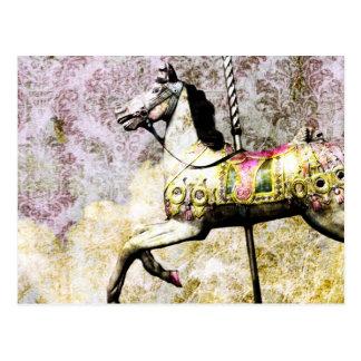 Merry Horse Postcard