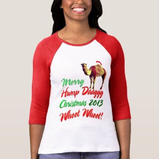 Merry Hump Day Christmas 2013 Whoot Whoot T-shirt