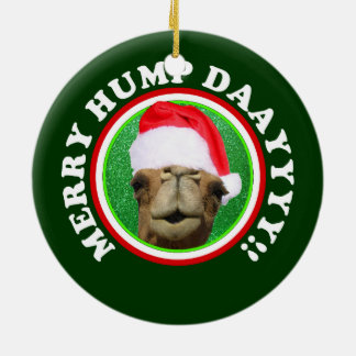 Merry Hump Day Christmas Tree Ornament