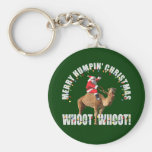 Merry Humpin' Christmas Santa & Camel Keychains
