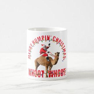 Merry Humpin' Christmas Santa & Camel Mug