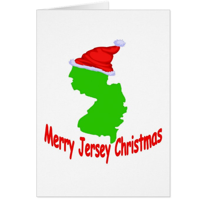 Merry Jersey Christmas Card